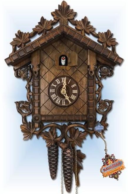 "1885 Railhouse 12"" August Schwer Cuckoo Clock   Bavarian Clockworks"