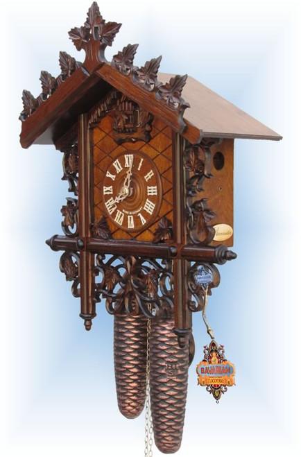 Sternreiter Bahnhausle | Antique Cuckoo Clock | Right View