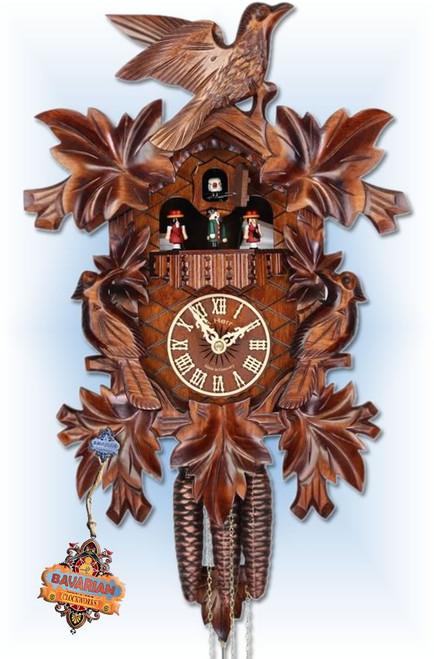 Adolf Herr cuckoo clock | 372/1MT | 16''H | Cuckoo Family | Traditional | full view