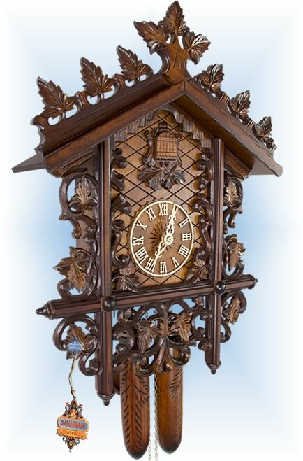 Adolf Herr | 402/18T | 22''H | Station House | Vintage | cuckoo clock | left
