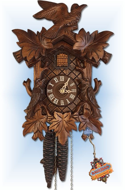 Rombach and Haas   cuckoo clock   1230   12 inch   front