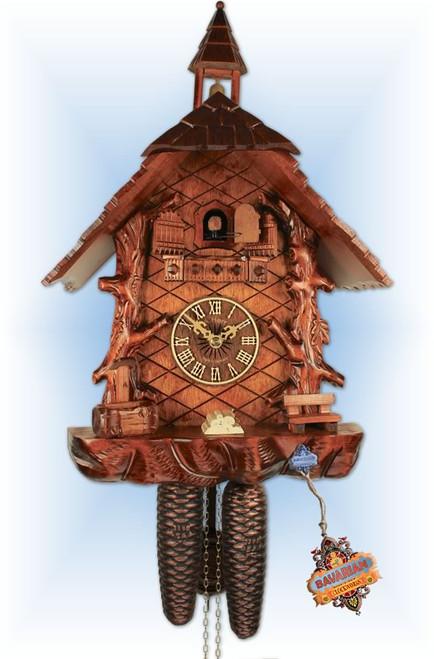 Forest Cabin cuckoo clock