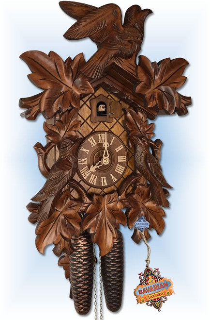 Rombach and Haas | 3430 | Classic Bird | 16 inch | Traditional | cuckoo clock | full cuckoo