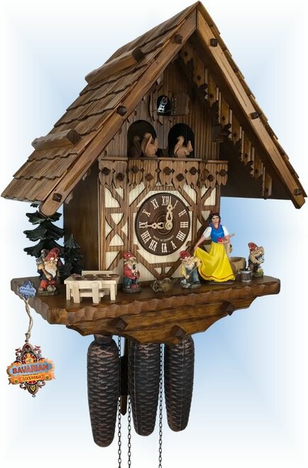 August Schwer | 5.0751.01.P | 16 inch | Snow White | Chalet | cuckoo clock | left view
