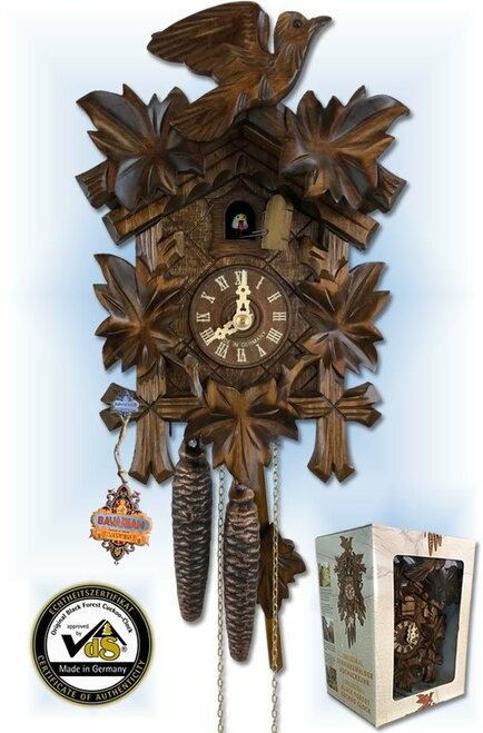 Gift Boxed | Cuckoo Clock | by Bavarian Clockworks | box set