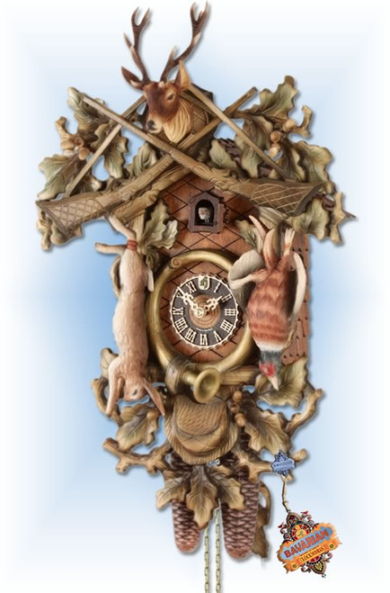Forest Hunter | Cuckoo Clock | by Hones