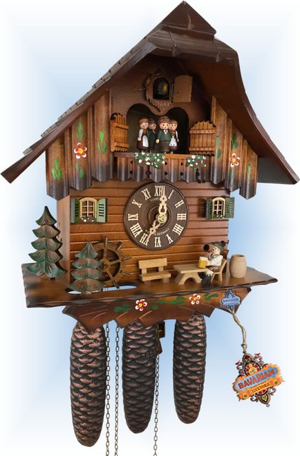 Breaktime | Cuckoo Clock | by Schneider | full view