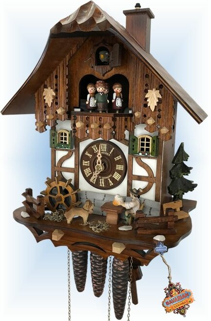 Schneider | Dog And Suds | Chalet style | cuckoo clock | full view