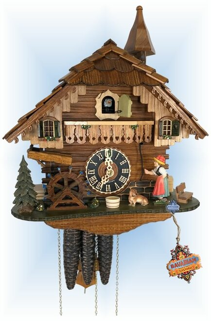 Cuckoo Clock chalet style 13 inch Musical Belle by Hones