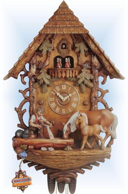 Pony Well 36'' Cuckoo Clock