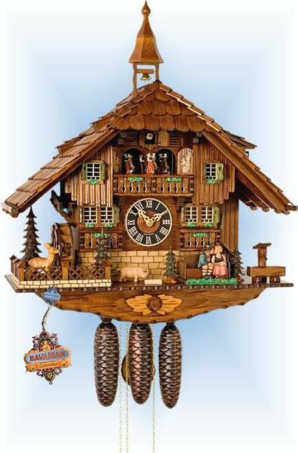 Happy Home 23'' Cuckoo Clock