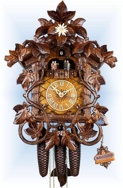 Cuckoo Clock vintage style 20 inch Vine Creepers IV by Adolf Herr