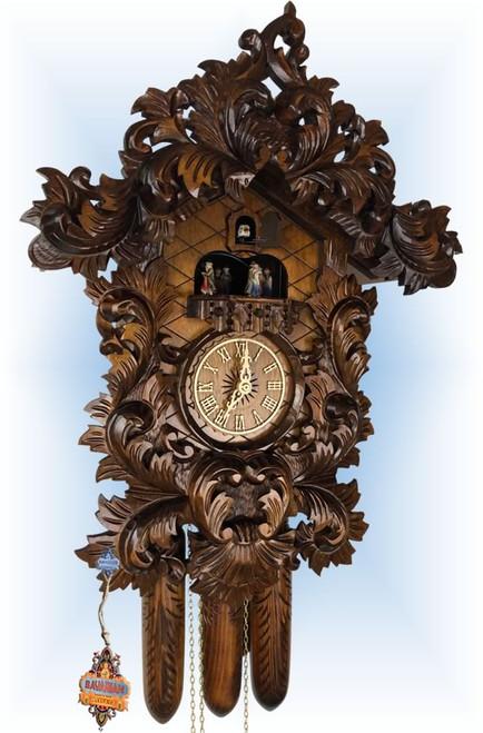 Adolf Herr Baroque | Antique Cuckoo Clock | Front View