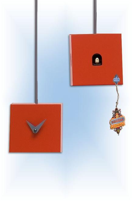 Cuckoo Clock modern style TuTu Red by Progetti