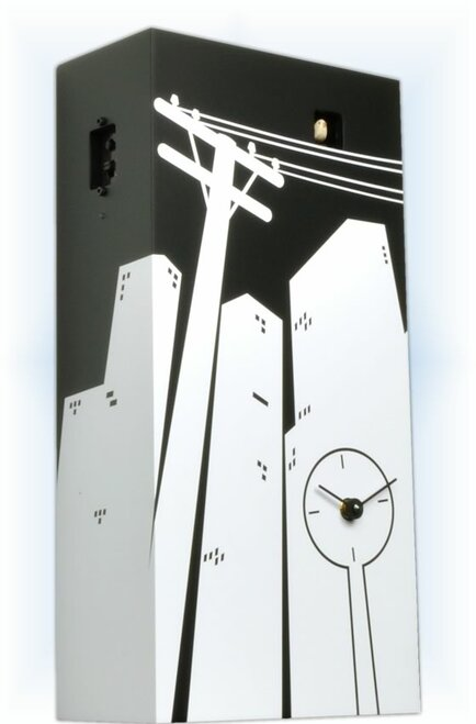 Cucucity by Progetti | Modern Cuckoo Clock | Left View