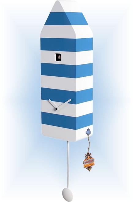 Capri Striped by Progetti | Modern Cuckoo Clock | Right View