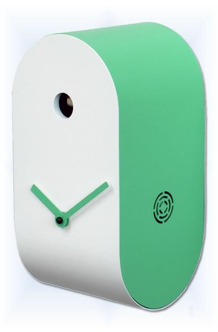 CuCupola Green by Progetti | Modern Cuckoo Clock | Right View