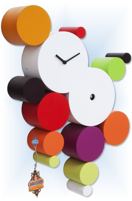 Cuckoo Clock modern style CucuBall by Progetti - left