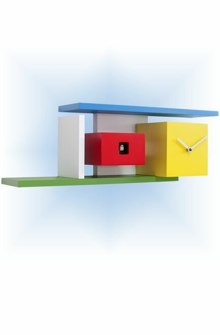 Cuckoo Clock modern style Mies by Progetti - left