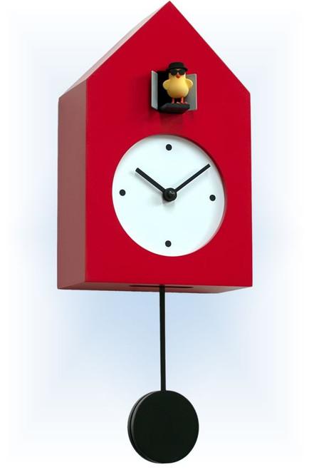 Cuckoo Clock modern style Freebird Badass by Progetti - left