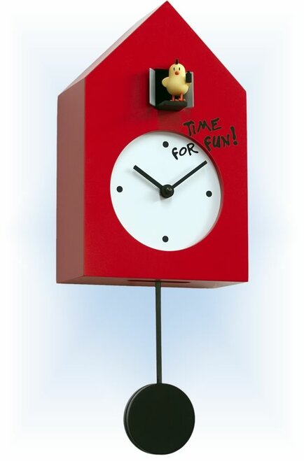 Cuckoo Clock modern style Freebird Punk by Progetti - left