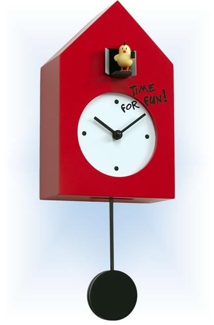 Cuckoo Clock modern style Freebird Punk by Progetti - left