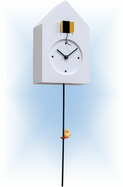 Cuckoo Clock modern style Freebird Tarzan by Progetti - left