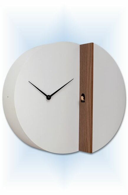 Cuckoo Clock modern style Peek-A-Koo by Progetti - left