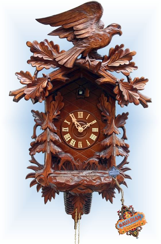Rombach & Haas | 3655 | 26''H | Antique Repro | Vintage | cuckoo clock | full view