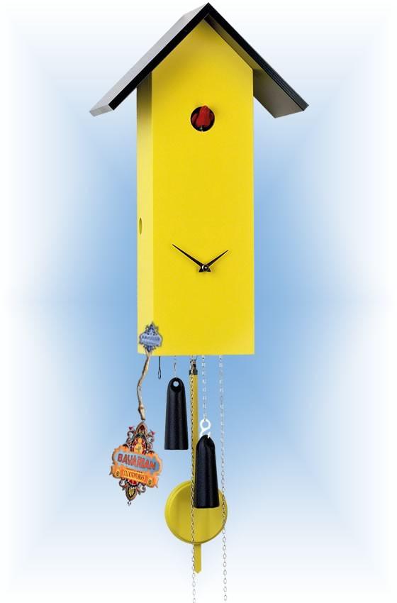 Rombach & Haas   sl15-8   16''H   Simple Line 8   Modern   cuckoo clock   full view