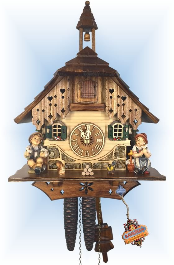 Happy Siblings cuckoo clock | by Adolf Herr
