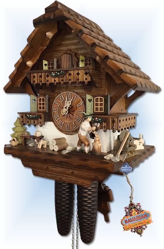 Hekas | 885 EX | 13 inch | Mill Grinder | Chalet | cuckoo clock | right view
