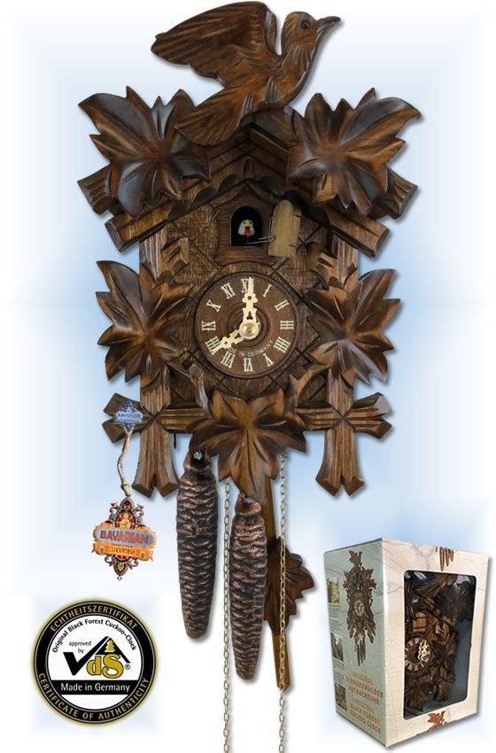 Gift Boxed   Cuckoo Clock   by Bavarian Clockworks   box set
