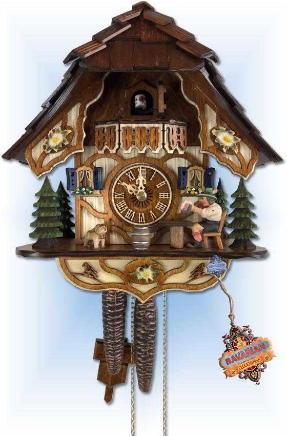 Tipsy Beer cuckoo clock
