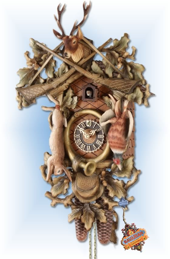 Forest Hunter   Cuckoo Clock   by Hones