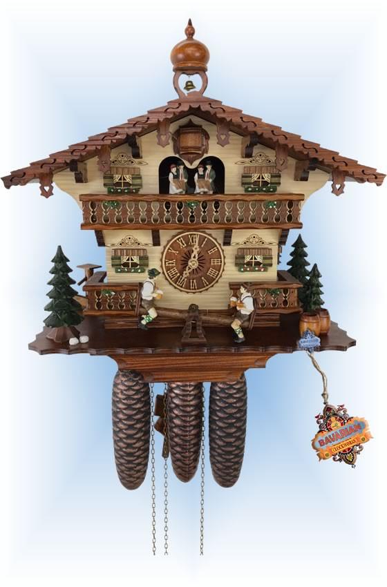 Bavarian Break | Cuckoo Clock | by Schneider | full view