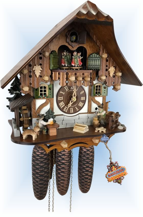 Tap n Toil | Cuckoo Clock | by Schneider | full view