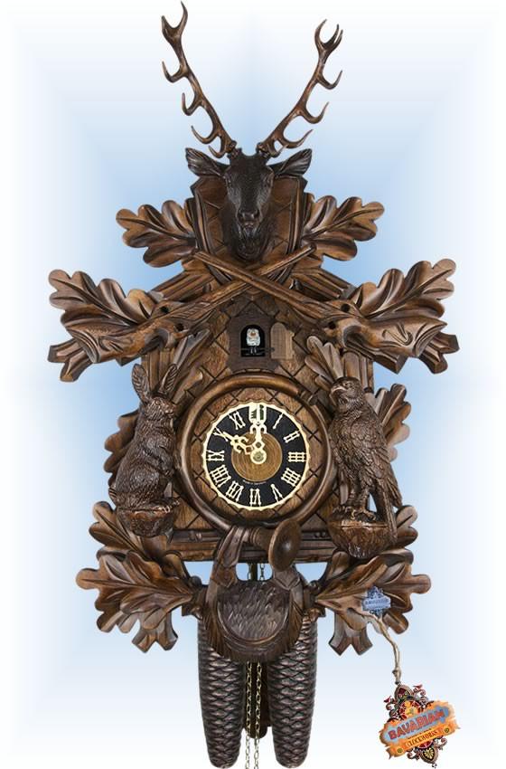 Rabbit Hunter   Cuckoo Clock   by Hones   8 Day