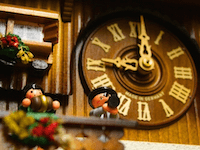 Authentic Movements Cuckoo Clock