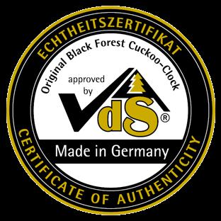 Authentic German Cuckoo Clock Seal