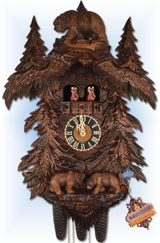 "Bears Forest 26"" Cuckoo Clock"