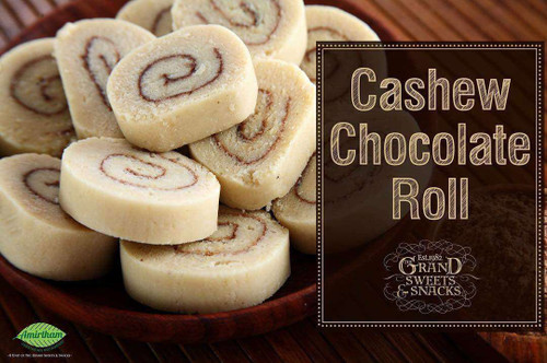 Cashew Chocolate Roll - 250 gms