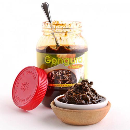 Gongura pickle thokku - 500 gms