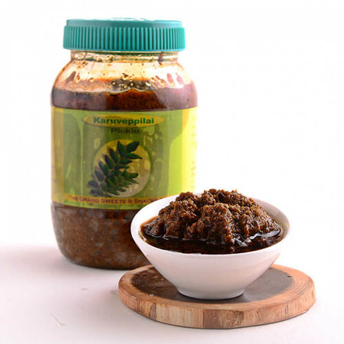 Karuveppillai Thokku Pickle - 500 gms