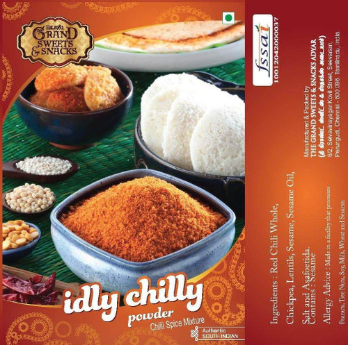 Idly chilly chutney powder - 250 gms