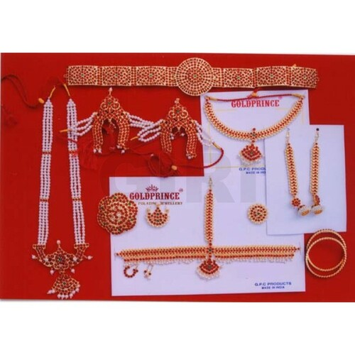 Bharatanatyam Dance Kemp Jewellery Set