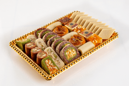Assorted Dry Fruit Sweets - Adyar Anandha Bhavan