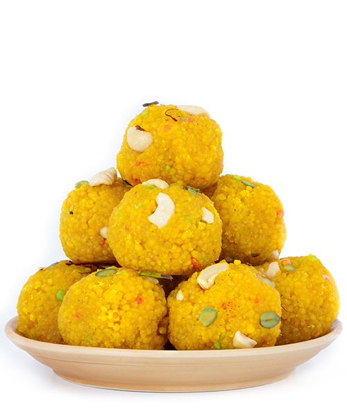 Sugar free boondhi laddu from Dezire Natural foods