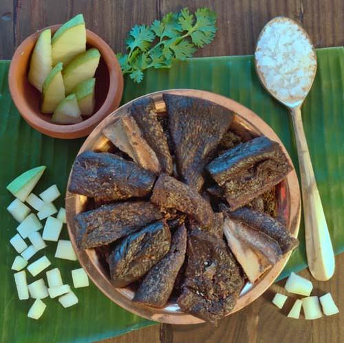 mango vathal ambika appalam