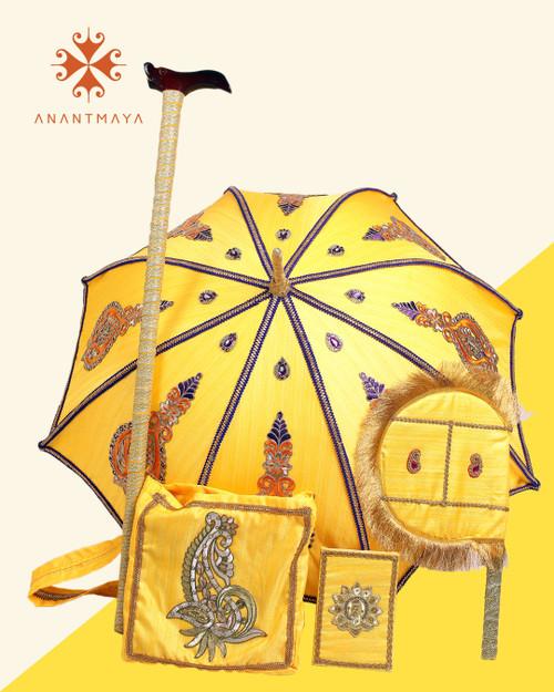 Yellow Kasi Yatra Set